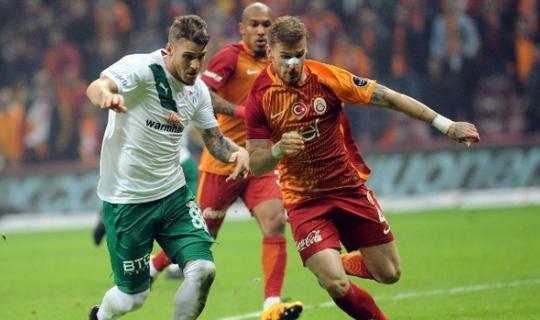 Bursaspor Galatasaray maçı başlıyor