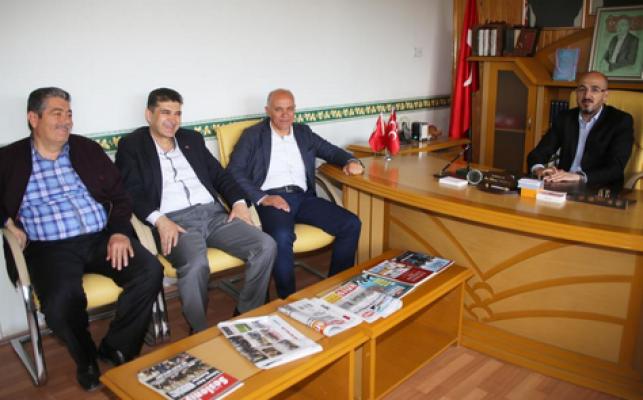 Karaman'da Başkan Çalışkan'dan hayırlı olsun ziyareti