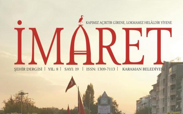Karaman'da İmaret Dergisinin 19. sayısı çıktı