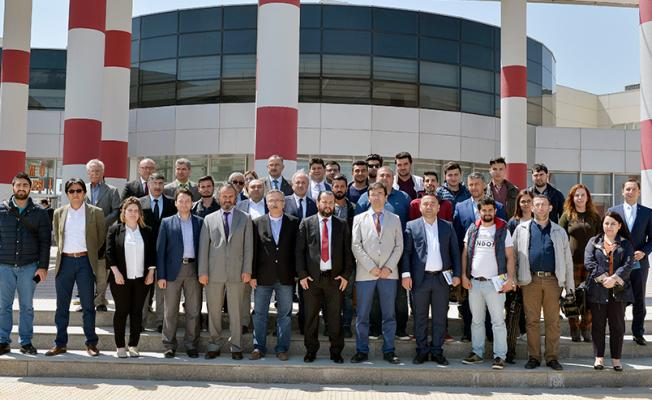 Karaman'da Rektör Akgül, basın mensupları ile kahvaltıda buluştu