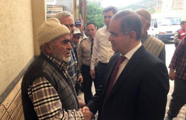 Karaman Valisi Tapsız, Bucakkışla Köyünü Ziyaret Etti