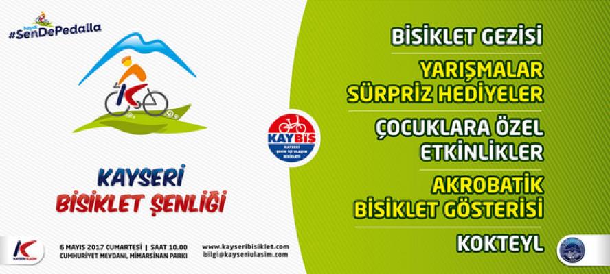 Kayseri'de bisiklet daha çok kullanılacak