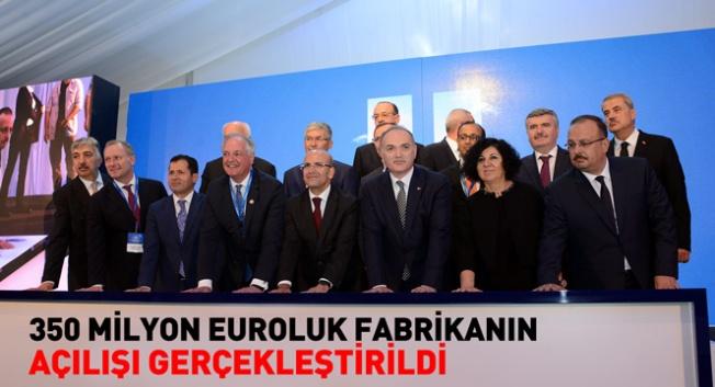Konya'da ev ve kişisel bakım ürünleri fabrikasının açılışı yapıldı