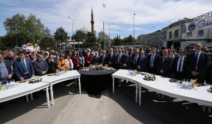 Türk El Sanatları Şöleni Kurşunlu Otoparkı'nda açıldı