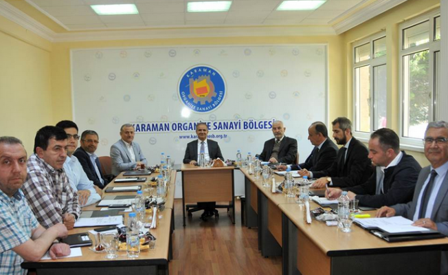 Vali Süleyman Tapsız başkanlığında toplandı