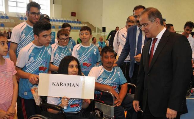 Voleybol Ligi'nin 2. Lig Final müsabakaları Karaman'da Başladı