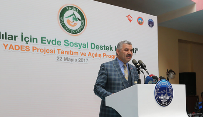 Yaşlı Destek Programı (YADES) projesi tanıtıldı