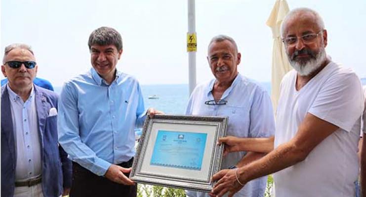 12 plaj Mavi Bayrakla ödüllendirildi
