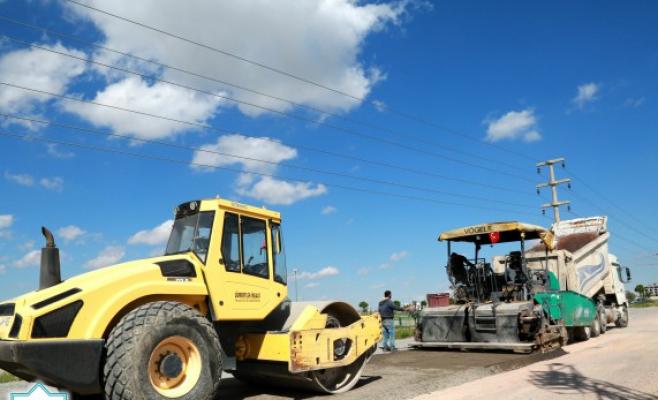 Altyapı ve asfalt çalışmalarına devam ediyor