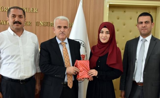 İl Milli Eğitim Müdürü Mevlüt Kuntoğlu'nu ziyaret etti