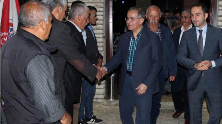 Karaman Valisi Süleyman Tapsız, iftar yemeğine katıldı
