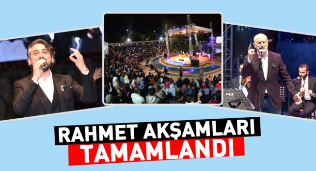 Konya'da Geleneksel Rahmet Akşamları sona erdi