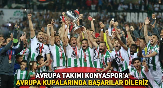 Konyaspor'u tebrik etti