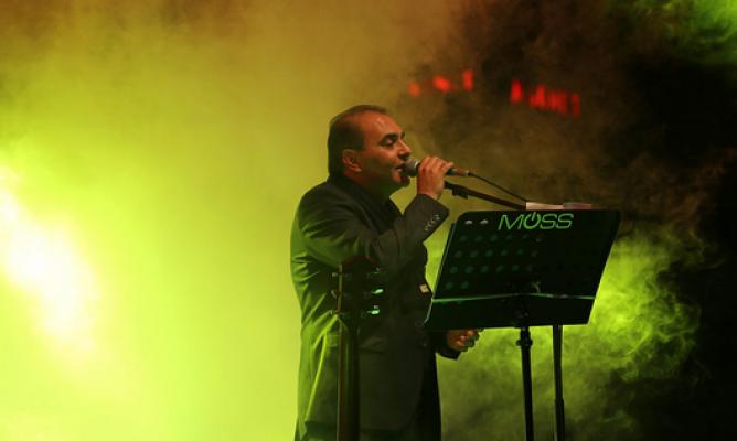 Sanatçı Aykut Kuşkaya Kayseri'deydi
