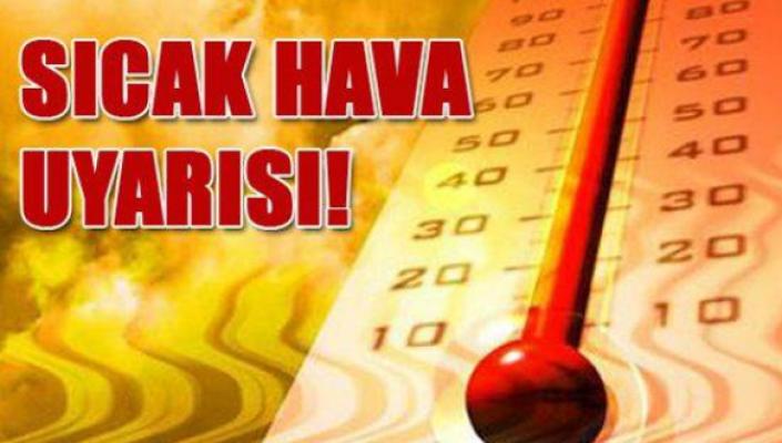 Sıcak hava uyarısı, Karaman hava durumu bilgileri
