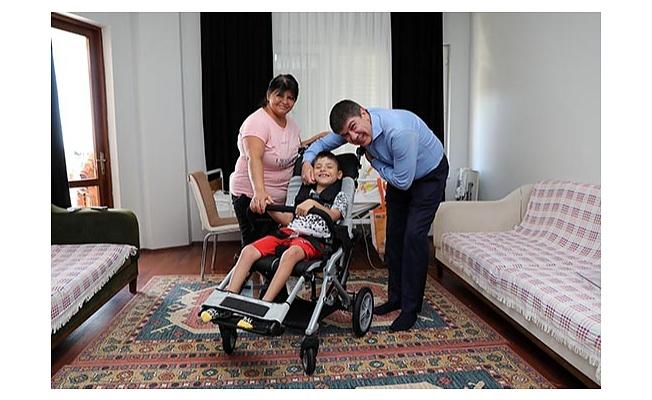 Başkan Türel Mehmet Ercan Sönmez'e Verdiği Sözünü Tuttu