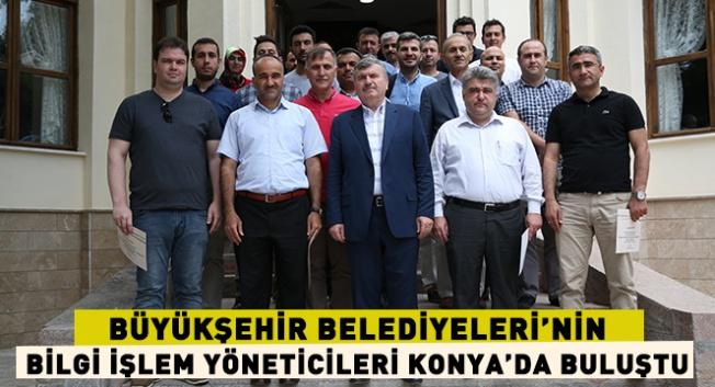 Bilgi İşlem Yöneticileri Konya'da toplandı