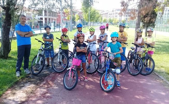Bursa'da Bisiklet Branşına Yoğun İlgi