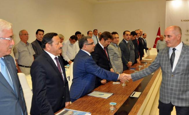 Karaman'da Yatırımlar Ele Alındı