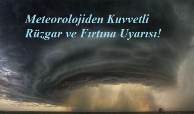 Karaman'da hava durumu, Kuvvetli Rüzgar ve Fırtına Bekleniyor
