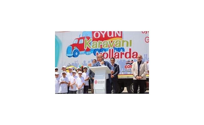 Oyun Karavanı Projesinin İstanbul'daki Son Durağı Ümraniye Oldu
