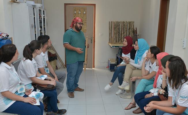 Yabancı uyruklu öğrenciler KMÜ'ye ulaştı