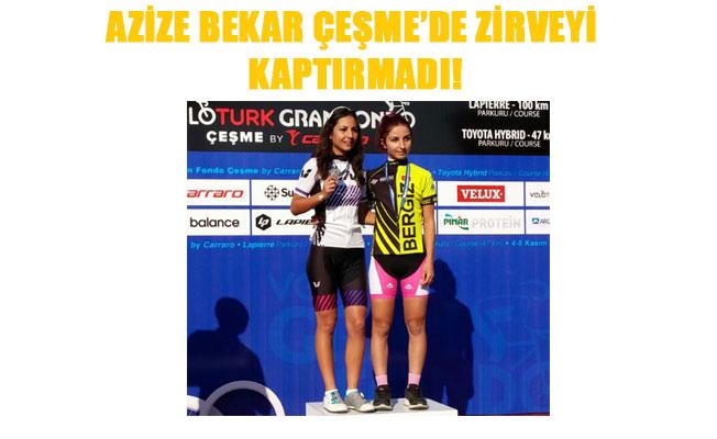 AZİZE BEKAR ÇEŞME'DE ZİRVEYİ KAPTIRMADI!