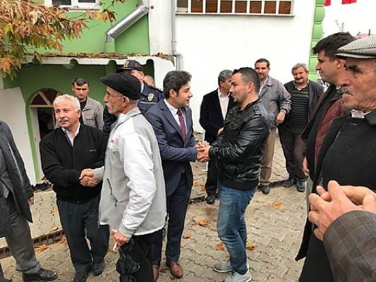 KAYMAKAMDAN ŞEHİT JANDARMA ONBAŞI MEHMET KIZILCA' NIN AİLESİNE ZİYARET