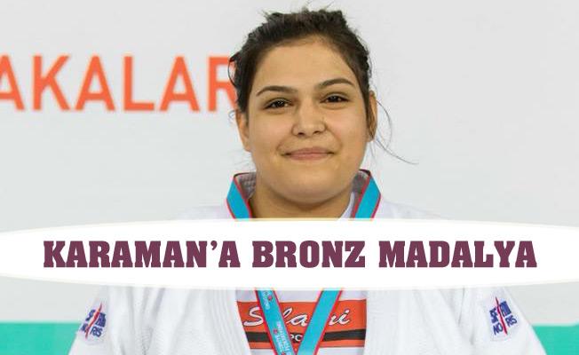 KARAMAN'A BRONZ MADALYA