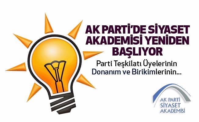 AK Parti  Siyaset Akademisi başvuruları başladı