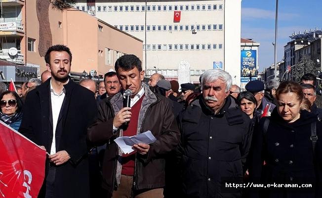 """CHP; """" DEMOKRASİ İSTİYORUZ!"""""""