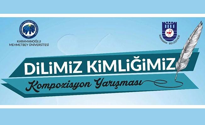 """""""DİLİMİZ KİMLİĞİMİZ"""" KONULU KOMPOZİSYON YARIŞMASI DÜZENLENİYOR"""