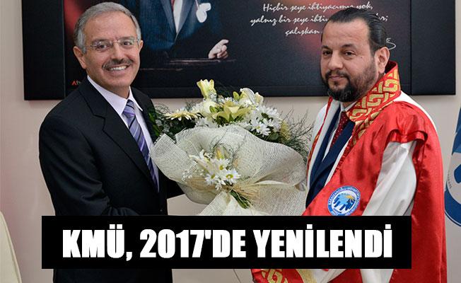 KMÜ, 2017'DE YENİLENDİ