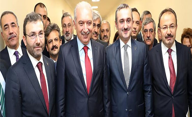 AK PARTİ İL BAŞKANI BAYRAM ŞENOCAK'TAN BAŞKAN UYSAL'A İADE-İ ZİYARET