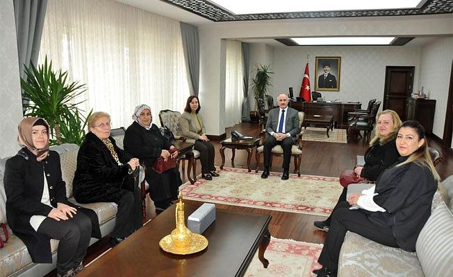 AK Parti Kadın Kollarından Vali Meral'e Ziyaret