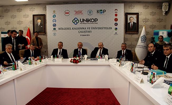 Bakan Elvan ve YÖK Başkanı Saraç UNİKOP Üniversiteleri ile bir araya geldi