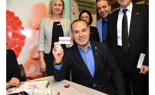 Başkan Sözlü Önce Organ Sonra da Kan ve Kök Hücre Bağışında Bulundu