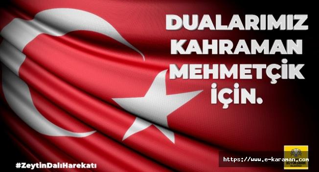 Dualarımız Kahraman Mehmetçik İçin