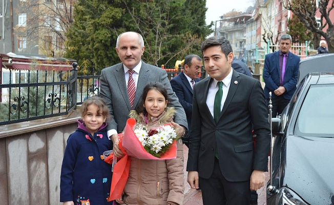 Karaman Valisi Sayın Fahri Meral İlçemizi Ziyaret Etti.