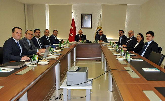 MEVKA Yönetim Kurulu Şubat Ayı Toplantısı Yapıldı