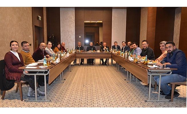 TURİDER Aylık Toplantısını Gerçekleştirdi