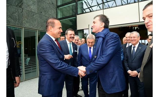 Türkiye-AB Karma İstişare Toplantısı'na Başkan Sözlü'den 'Mülteci' Vurgusu