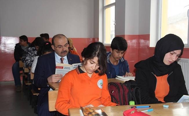 2017-2018 Eğitim Öğretim yılının 2. döneminde ilk ders zili çaldı.