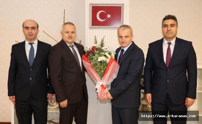 29. Vergi Haftası'nda Vali DİRİM'e Defterdarlıktan Ziyaret