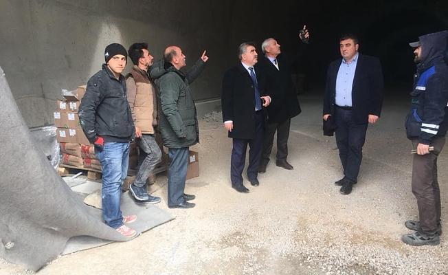 Ferhat Tüneli'nin %90'ı Tamamlandı