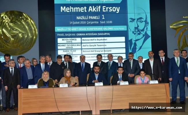 Anadolu Mektebi ve Nazilli Asımın Nesli Anadolu İmam Hatip Lisesi Tarafından 'Akif'i Anlamak, Asım'ı Yaşamak' Programı Düzenlendi