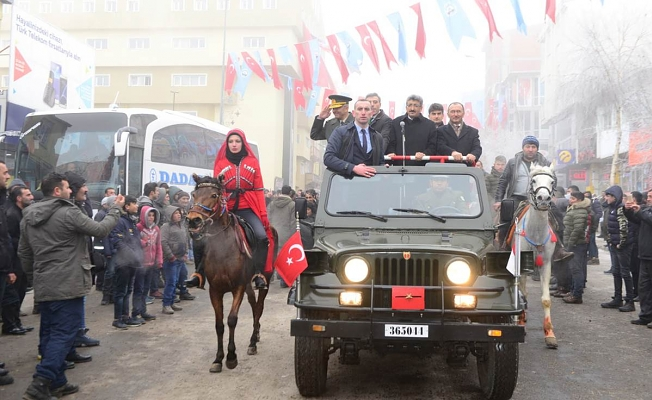 Ardahan'ın işgalden kurtuluşunun 97'nci yıl dönümü, düzenlenen etkinliklerle kutlandı.