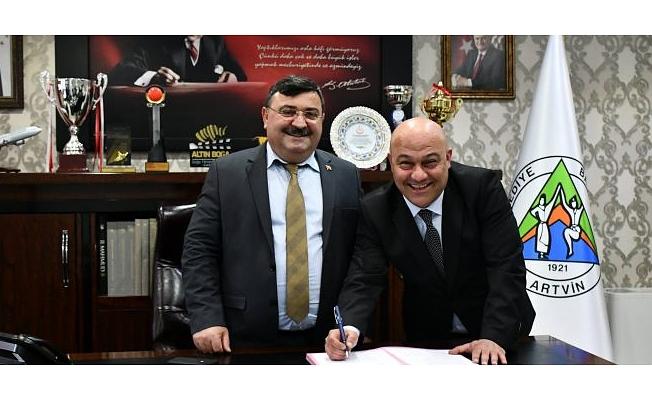 Artvin Belediyesi DİSK ile Toplu İş Sözleşmesi İmzaladı