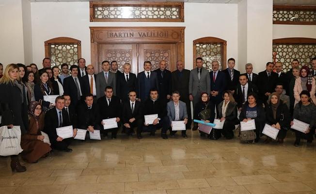 BAKKA'da Uygulamalı Proje Döngüsü Yönetim Eğitiminde Sertifikalar Verildi