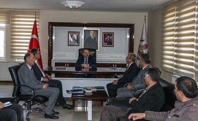 Başkan Vekili Ustaoğlu Birim Amirleri İle Toplantı Yaptı